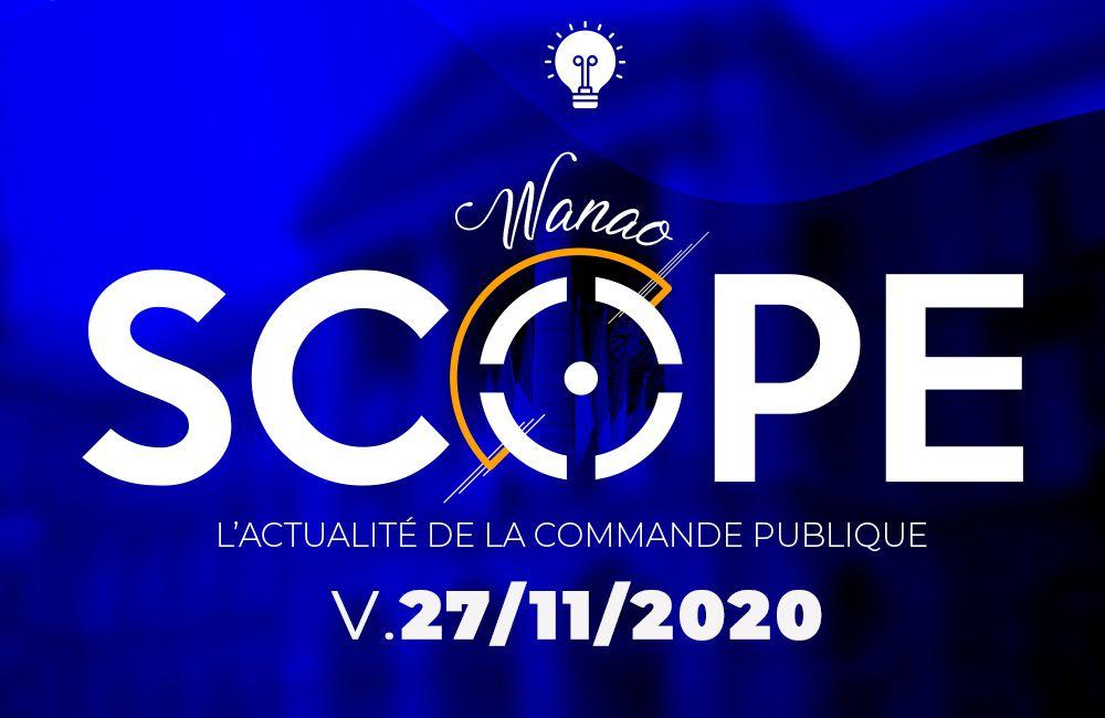 L'actu de la commande publique du vendredi 27 novembre 2020